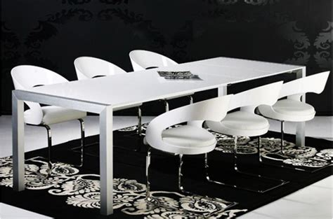 table carree blanc laque avec rallonge maison design hosnya