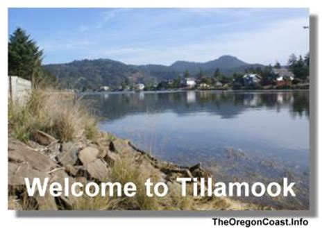 Tillamook, Oregon on the Oregon Coast