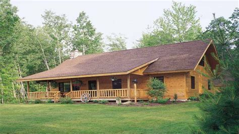 Ranch Style Log Home Floor Plans by Log Style House Plans Ranch Log Cabin Plans Cabin Style