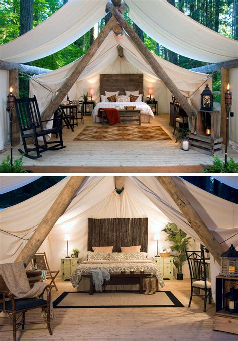 glamping destinations  people     camping
