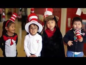 Dallas ISD students celebrate Dr. Seuss' Birthday - YouTube