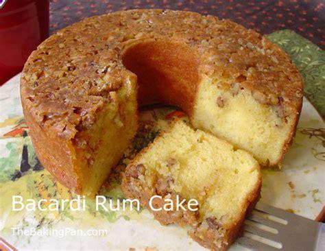 bacardi rum cake recipe thebakingpancom