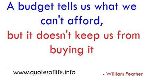 budget business quotes quotesgram
