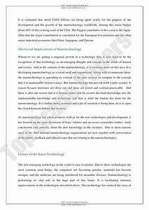 Business Strategy Essay Essay On Nanotechnology In Hindi  Business Management Essays also Law Assignment Help Melbourne Essay On Nanotechnology Introducing Yourself Essay Informative Essay  Essays About English Language