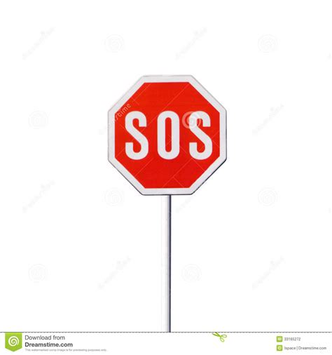 SOS sign stock photo. Image of prevention, brakes ...