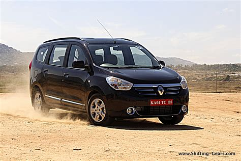 renault lodgy renault lodgy review shifting gears