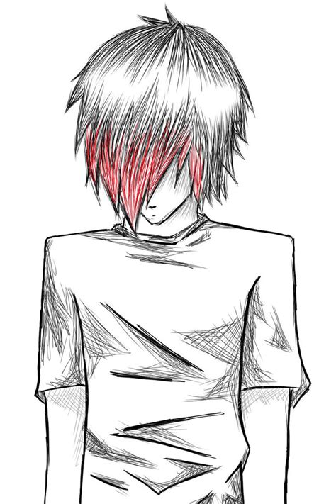 Best Anime Boy Sketch Ideas And Images On Bing Find What You Ll Love