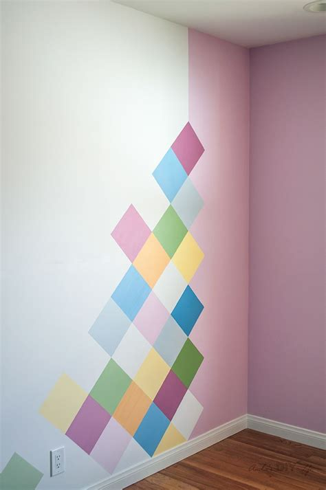 Easy Bedroom Wall Painting Ideas by How To Colorful Accent Wall For Room Ideas For My