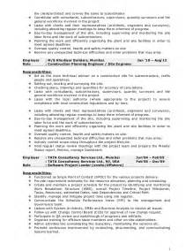 construction project manager resume india pankaj resume construction project manager