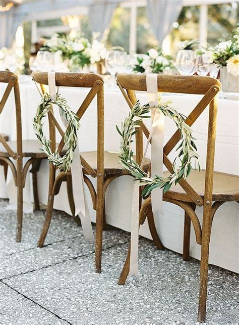 55 Gorgeous Ways to Decorate Your Wedding Chairs Page 10