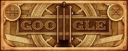 Alessandro Google Doodles Volta Birthday Voltas 270th
