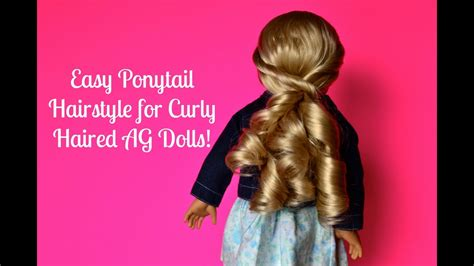 Easy Ponytail Hairstyle For Curly Haired American