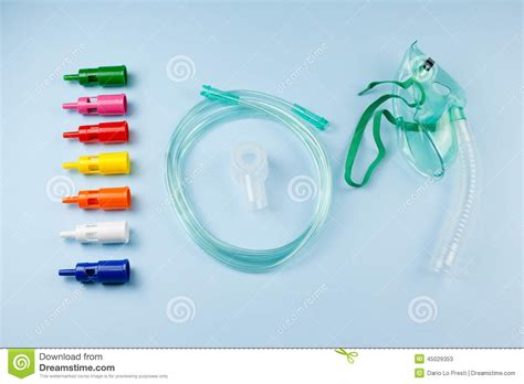 Air Entrainment Mask Stock Photo
