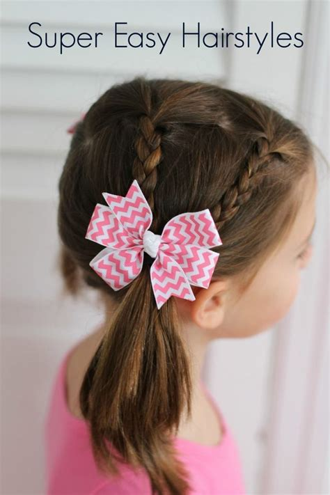 Easy Kid Hairstyles by Best 25 Easy Hairstyles For Ideas On