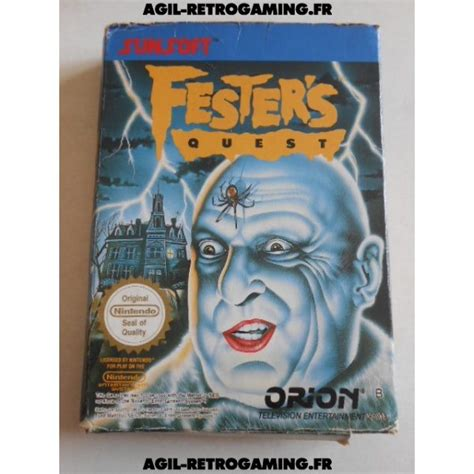 Festers Quest Nes Agil Retrogaming