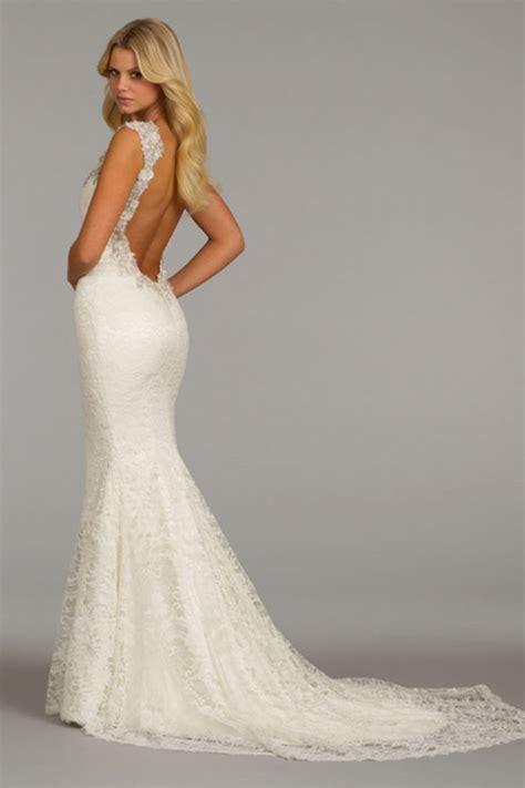 Backless Mermaid Wedding Dresses Dresscab