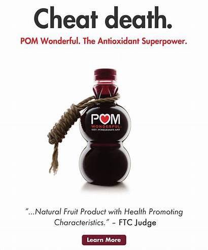 Pom Health Claims Quotes Ads Wonderful Ftc