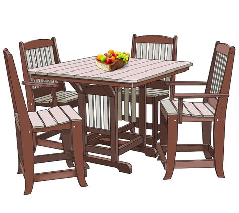 outdoor poly furniture tables hickory nc