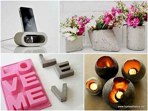 30+ DIY decorative ideas with cement to freshen up your