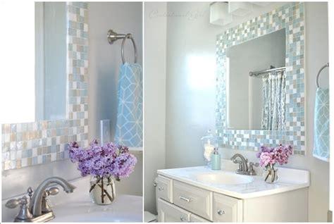 wonderful   diy bathroom mirror ideas