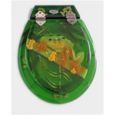 Green Frog Potty Chair by Loo With A View 3 Tree Frog Greenwash Toilet Seat