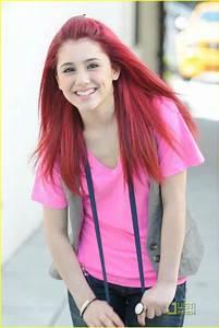 Ariana Grande Rote Haare : say hello to ariana grande photo 108441 photo gallery just jared jr ~ Frokenaadalensverden.com Haus und Dekorationen