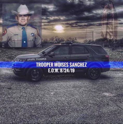 dps trooper dies    duty shooting  april