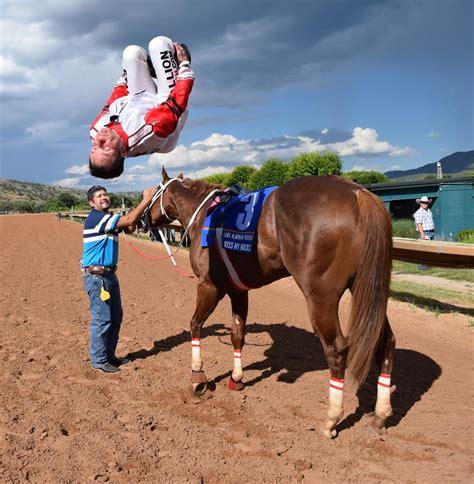 quarter horse jockeys
