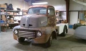 1949 Ford F5 Coe Project With 454 Engine On 1985 P30 Chevy Chassis