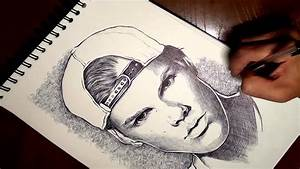 Drawing Avicii  Dibujando A Avicii
