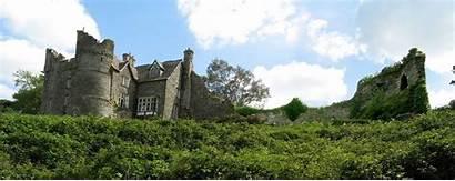 Newport Castle Wales Pembrokeshire Pembs Hen Church