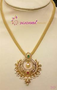 Gold Short Necklace Designs ~ South India Jewels