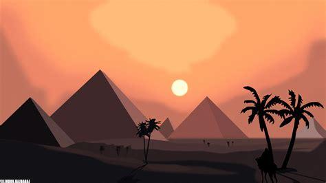 simple simplicity pyramid egypt vector vector