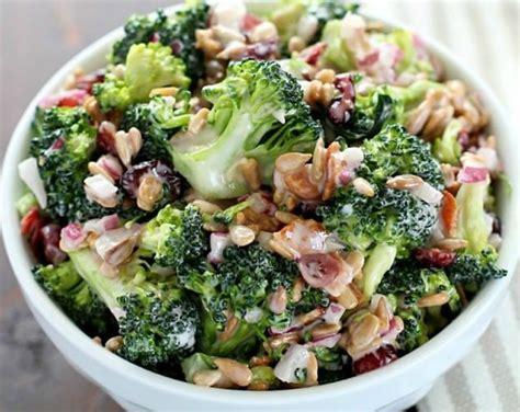 recettes cuisine du monde la meilleure recette de salade brocoli crémeuse