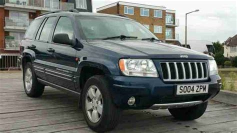 blue jeep grand cherokee 2004 jeep 2004 grand cherokee crd ltd au blue car for sale