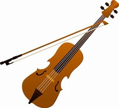Violin Clip Elegant Instruments Musical Sweetclipart