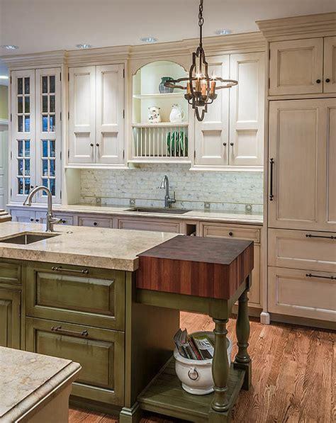 kitchen dividers cabinets random mix sapele mahogany butcher block countertop 1560