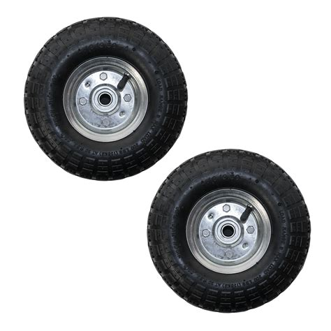 garden cart replacement wheels pack 10 quot replacement spare wheel tyre 4 10 3 50 4