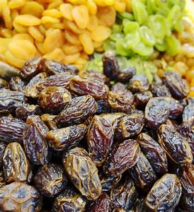 Dried Dates At Market Stock Photo - Image: 38913116