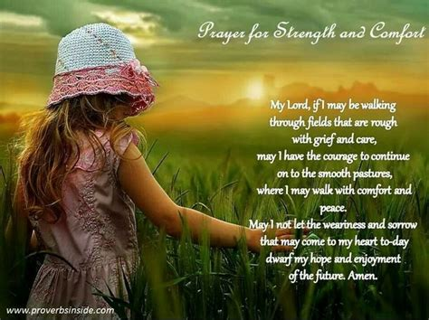 prayers of comfort prayers for strength and comfort prayer for strength and