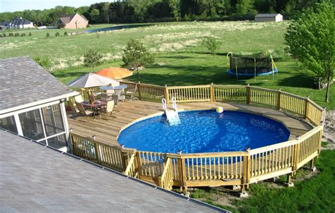 Pictures Of Decks Around Above Ground Pool by Above Ground Pool Decks Privacy Above Ground Pool Deck