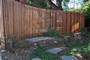 Welches Holz Für Gartenzaun : holzz une coole ideen f r den garten mit geschwungene ~ Lizthompson.info Haus und Dekorationen