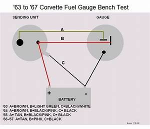 C2 Fuel Gauge Bench Test  - Corvetteforum
