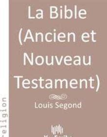la bible ancien  nouveau testament epub louis