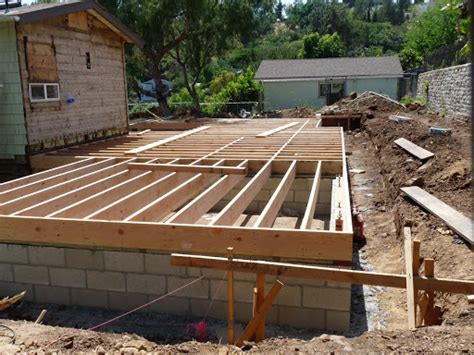 how to frame a floor adding space and framing floors