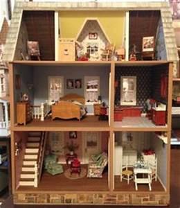 Duracraft39s Bellingham Farmhouse Dollhouse Interiors
