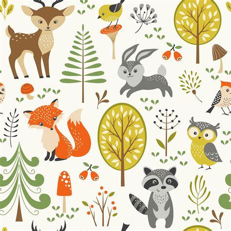 Woodland Animal Wallpaper - woodland creatures wallpaper www pixshark