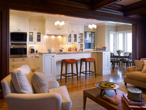 17 Open Concept Kitchenliving Room Design Ideas Style