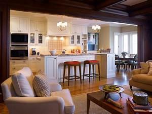 17 open concept kitchen living room design ideas style for Open kitchen design with living room