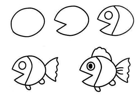 wonderful idea  drawing easy animal figures easy